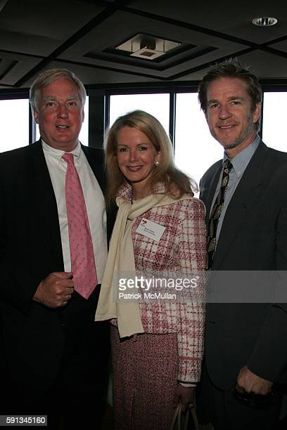 Robert Trump Blaine Trump and Matthew Modine attend Authors In Kind 2005 God's Love We Deliver Hosts It's 2nd Annual Luncheon at The Rainbow Room on...