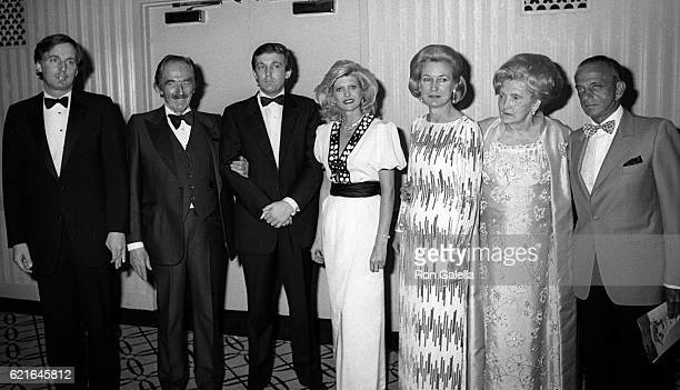 Robert Trump Fred Trump Donald Trump Ivanka Trump Elizabeth Trump Mary Anne Trump and Roy Cohn attend 38th Annual Horatio Alger Awards Dinner on May...