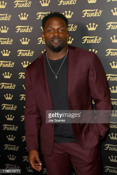 Robert Turbin attends the Funko Hollywood VIP Preview Event at Funko Hollywood on November 07 2019 in Hollywood California
