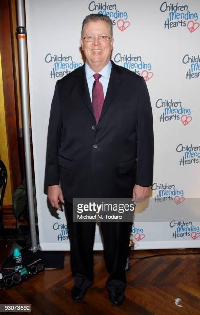 Robert V Hess attends the Children Mending Hearts Please Mr President workshop at the Prince George Ballroom on November 15 2009 in New York City