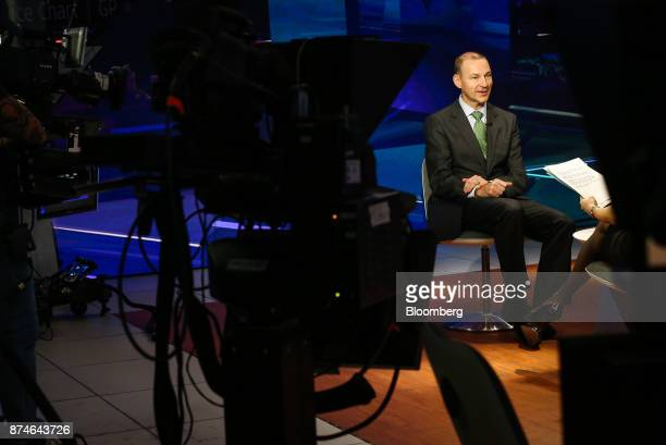 Robert Van Brugge chief executive officer of Sanford C Bernstein Co speaks during a Bloomberg Television interview in New York US on Wednesday Nov 15...