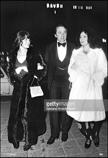 Robert Vaughn and his wife Linda Staab in Paris in 1973