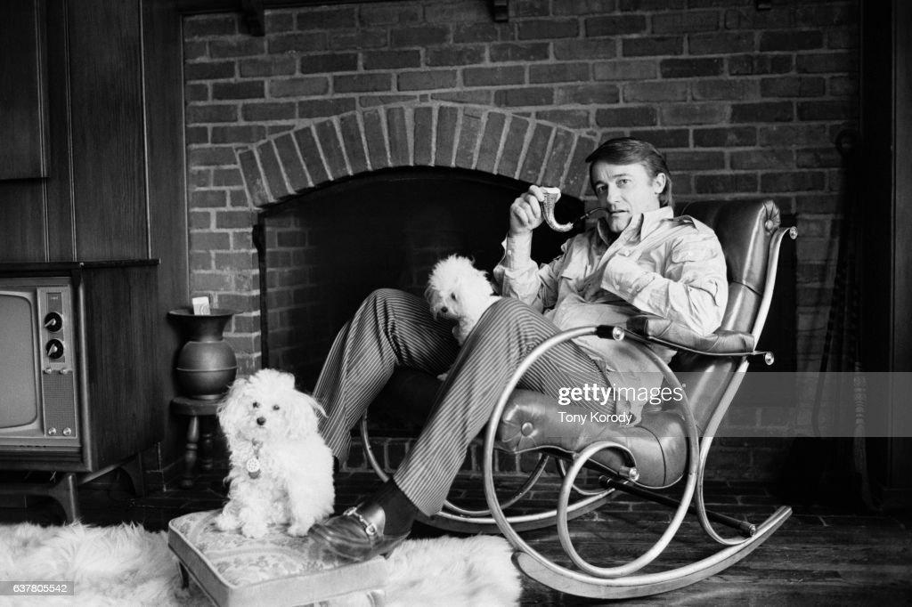 Robert Vaughn at Home