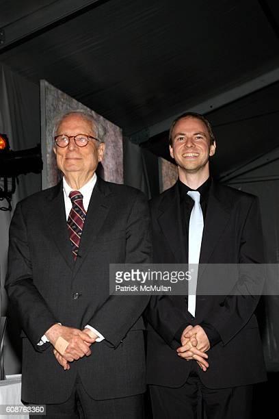 Robert Venturi and Jim Venturi attend Cooper Hewitt Museum's National Design Awards Gala at Cooper Hewitt Museum on October 18, 2007 in New York City.