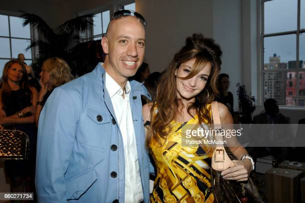 Robert Verdi and Beth Shak attend LOUIS VUITTON CRUISE 2010 COLLECTION PREVIEW at 463 West Street Penthouse on June 18 2009 in New York City