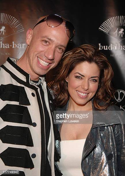 Robert Verdi and Bobbie Thomas during Buddha Bar One-Year Anniversary at Buddha Bar in New York City, New York, United States.