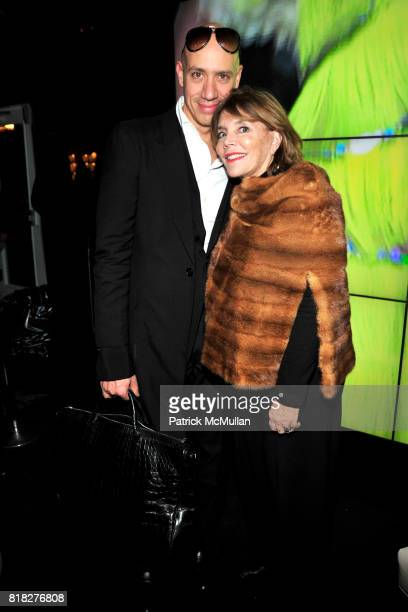 Robert Verdi and Judy Licht attend Closing Party for Bryant Park Tents at Bryant Park on February 18 2010 in New York City