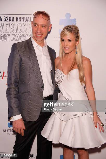 Robert Verdi and Tinsley Mortimer attends the 32nd Annual AAFA American Image Awards at the Grand Hyatt Hotel on May 26 2010 in New York City
