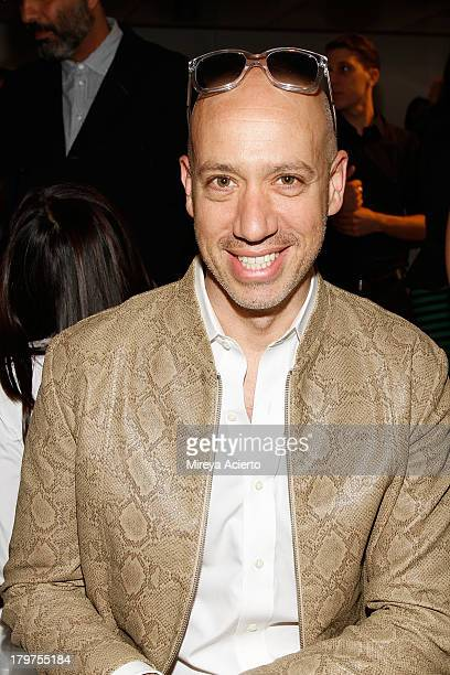 Robert Verdi attends the Cushnie Et Ochs fashion show during MADE Fashion Week Spring 2014 at Milk Studios on September 6 2013 in New York City