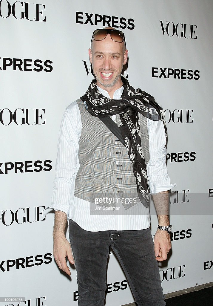 Robert Verdi attends the EXPRESS 30th anniversary party at Eyebeam on May 20, 2010 in New York City.