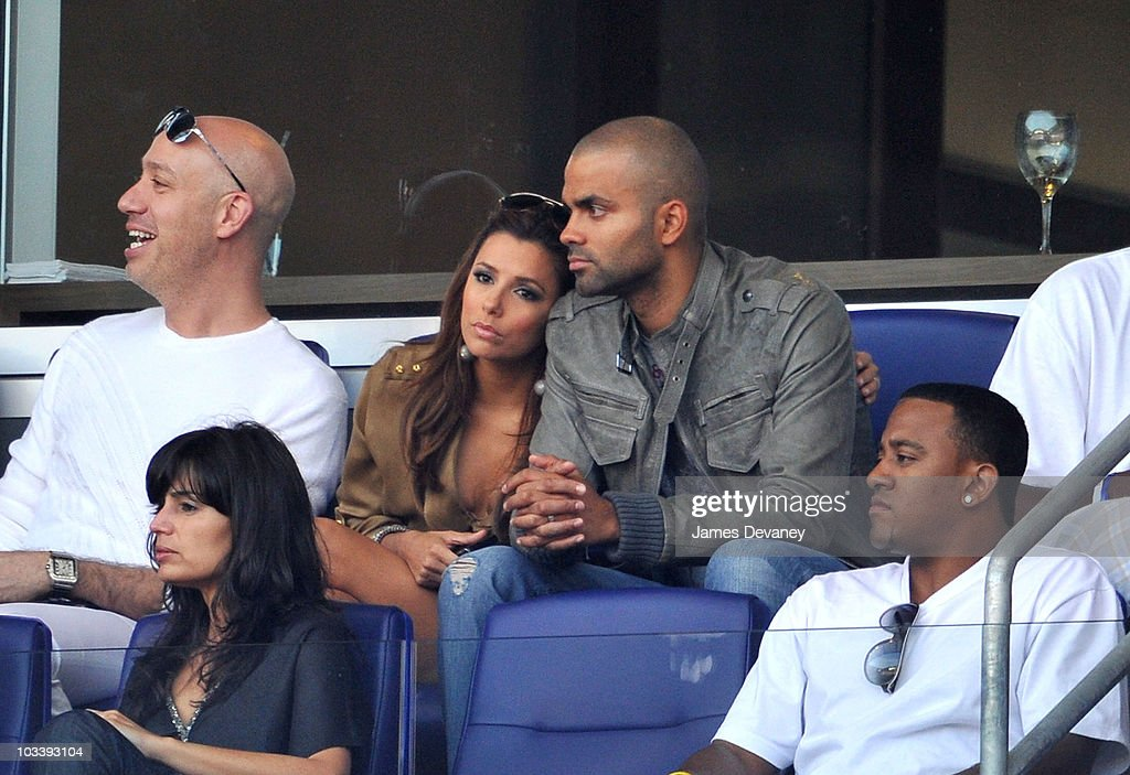 Celebrities Attend The Los Angeles Galaxy Vs. New York Red Bulls Game