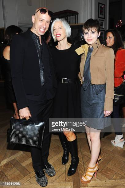 Robert Verdi Senior Vice President Fashion Office and Store Presentation of Bergdorf Goodman Linda Fargo and Actress Sami Gayle attend Bergdorf...