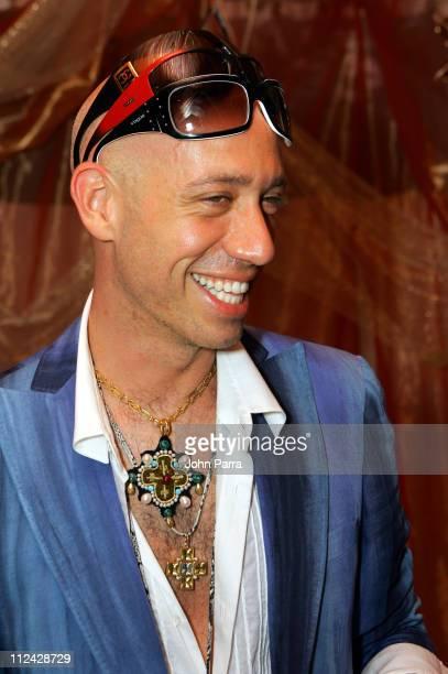 Robert Verdi Sunglass Hut spokesperson during Sunglass Hut Swim Shows Miami Presented by LYCRA Gift Suite Day 1 at Raleigh Hotel in Miami Florida...