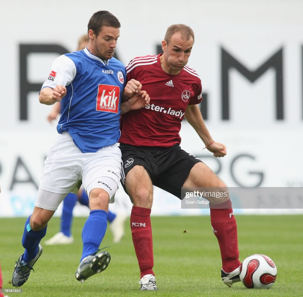 Bundesliga - Hansa Rostock v 1. FC Nuremberg : Fotografía de noticias