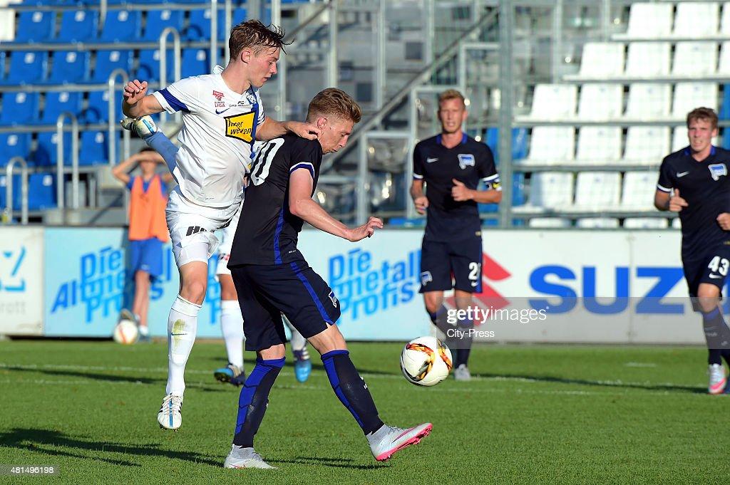 SV Groedig v Hertha BSC - Friendly Match