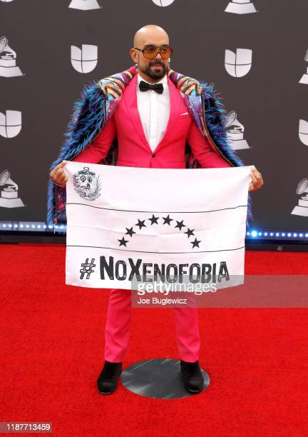 Robert Vogu attends the 20th annual Latin GRAMMY Awards at MGM Grand Garden Arena on November 14 2019 in Las Vegas Nevada