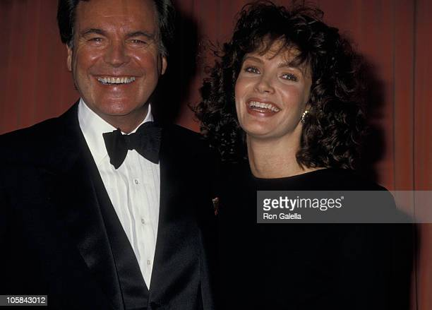 Robert Wagner and Jaclyn Smith during The 44th Annual Golden Globe Awards at Beverly Hilton Hotel in Beverly Hills California United States