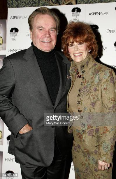 Robert Wagner and Jill St John at the Hotel Jerome in Aspen Colorado