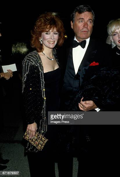 Robert Wagner and Jill St John attend the Annual Costume Institute Exhibition Gala 'Dinner with DV' honoring Diana Vreeland at the Metropolitan...