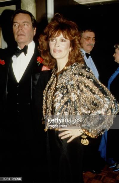 Robert Wagner and Jill St. John circa 1985 in New York.
