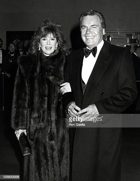 Robert Wagner and Jill St John during Brunch for Kennedy Center Honorees December 6 1987 at Ritz Carlton Hotel in Washington DC United States