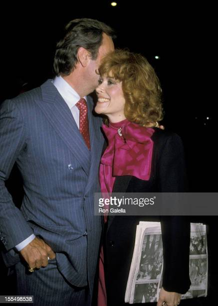 Robert Wagner and Jill St John during Robert Wagner and Jill St John File Photos California United States