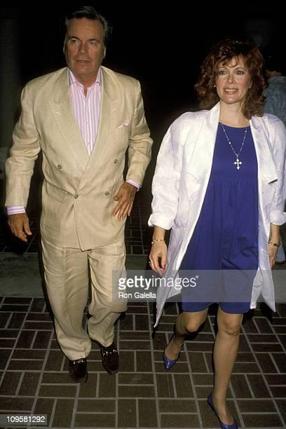 Robert Wagner and Jill St. John during Universal Studios Private Party at the Grand Cypress Resort - June 6, 1990 at Grand Cyprus Resort in Orlando,...