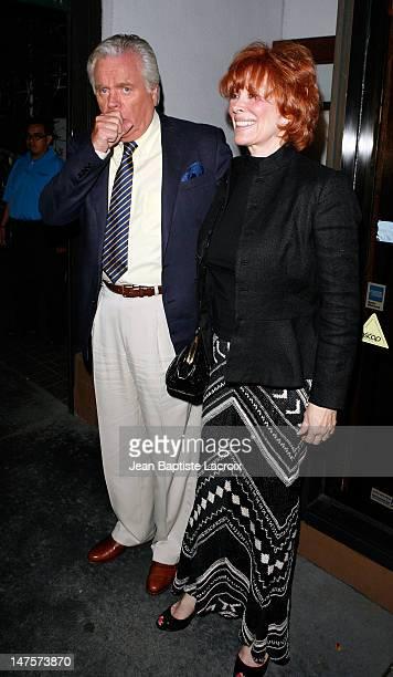 Robert Wagner and Jill St. John is seen on September 16, 2008 in Beverly Hills, California.