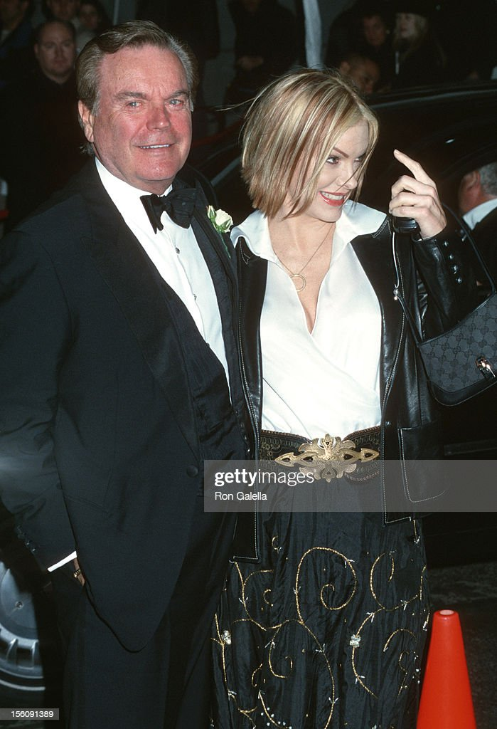 Robert Wagner And Katie During Wedding Of Liza Minnelli David Gest At The Marble