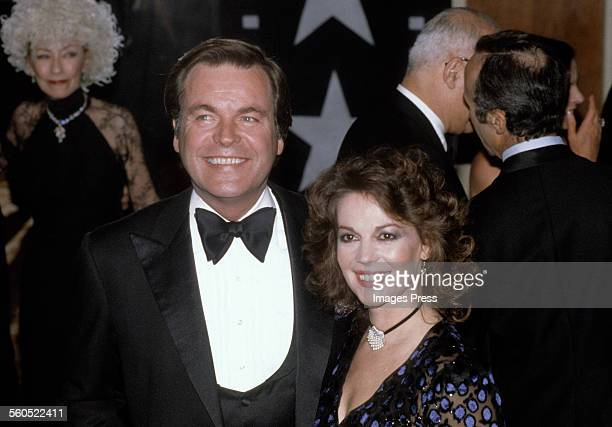 Robert Wagner and Natalie Wood circa 1981 in Los Angeles California