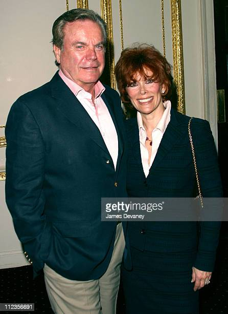 Robert Wagner and wife Jill St John during Kidney Urology Foundation Celebrates Its Launch and Appoints Actor Robert Wagner Honorary Chairman at The...