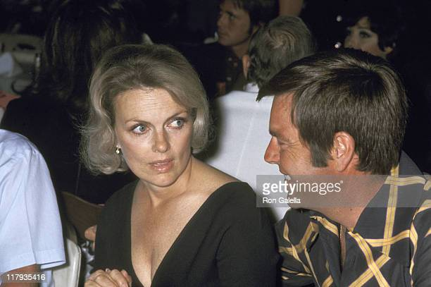 Robert Wagner and Wife Marion Marshall during Chuck Connors 3rd Annual Charity Invitational Golf Tournament Dinner Party at Palm Springs Raquet Club...