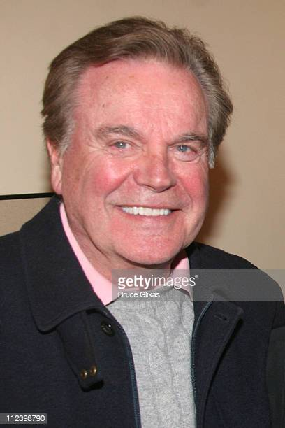 Robert Wagner *Exclusive Coverage* during Robert Wagner and Jill St John Visit Chita Rivera at 'Chita Rivera The Dancer's Life' on Broadway at The...