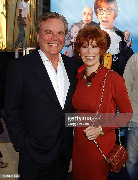Robert Wagner Jill St John during Austin Powers In Goldmember Premiere at Universal Amphitheatre in Universal City California United States