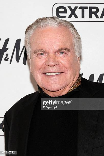 Robert Wagner visits 'Extra' at their New York studios at HM in Times Square on November 15 2016 in New York City