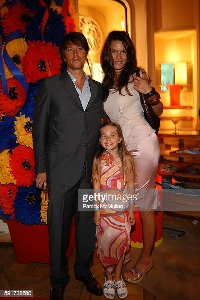 Robert Watman Carly Watman and Larissa Bond attend Madonna Childrens Book Lotsa de Casha published by Callaway Arts and Entertainment at Bergdorf...