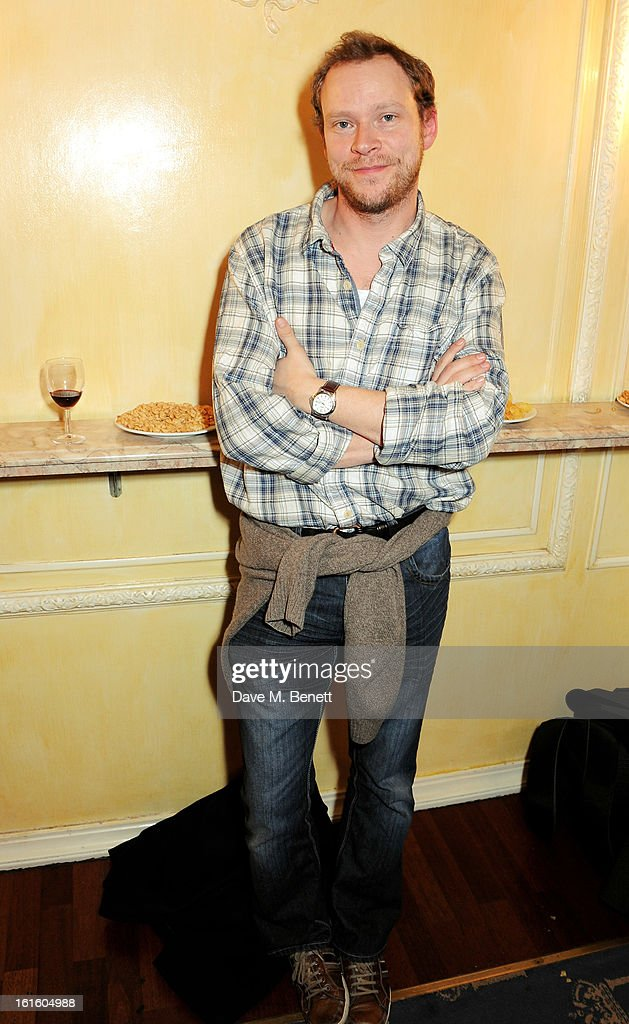 Robert Webb attends an after party celebrating the new cast of 'One Man, Two Guvnors' at the Theatre Royal Haymarket on February 12, 2013 in London, England.