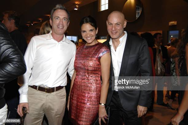 Robert Wennett Laure Heriard Dubreuil and Craig Robins attend THE WEBSTER Grand Opening with Guest of Honor Solange AzaguryPartridge at The Webster...