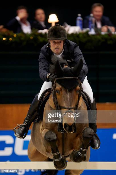 Robert Whitaker attends during CSI Casas Novas Horse Jumping Competition on December 10 2017 in A Coruna Spain