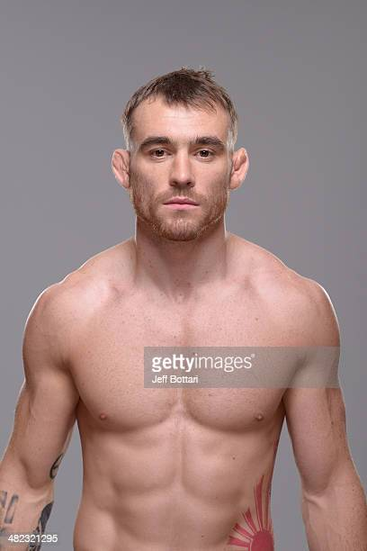 Robert Whiteford poses for a portrait during a UFC photo session on March 12 2014 in Dallas Texas