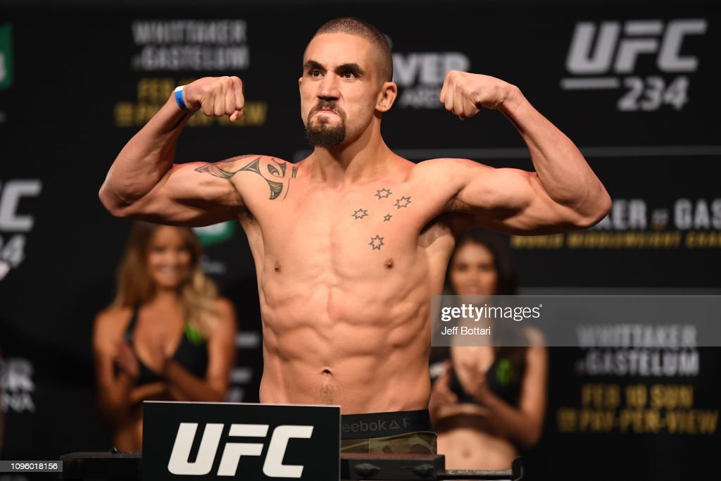 UFC 234: Weigh-ins : News Photo