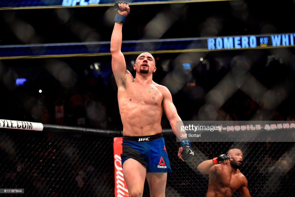 UFC 213: Romero v Whittaker : News Photo
