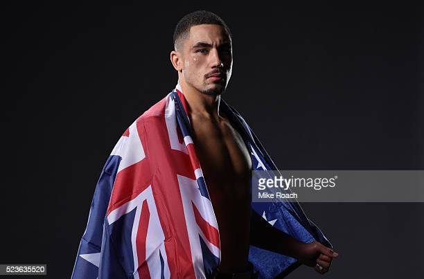 Robert Whittaker of New Zealand poses for a portrait during the UFC 197 event inside MGM Grand Garden Arena on April 23 2016 in Las Vegas Nevada