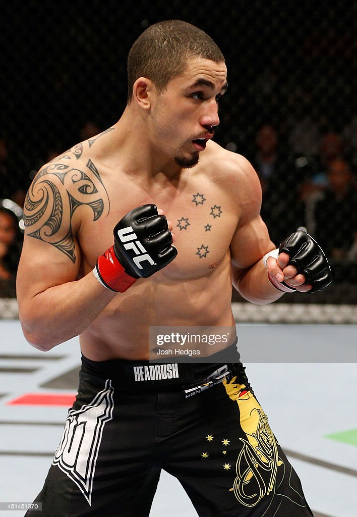 Robert Whittaker stands in the Octagon during his welterweight fight against Mike Rhodes during the UFC Fight Night event at Vector Arena on June 28, 2014 in Auckland, New Zealand.