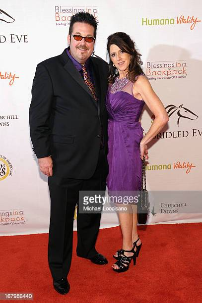 Robert Williamson III and Kate Williamson attend the Unbridled Eve Gala for the 139th Kentucky Derby at The Galt House Hotel Suites' Grand Ballroom...