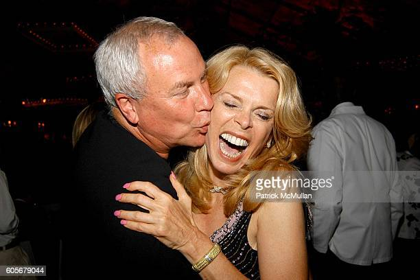 Robert Wilson and Betsy McCaughey attend The Midsummer Party Benefit for The PARRISH ART MUSEUM at The Parrish Art Museum on July 8 2006 in...