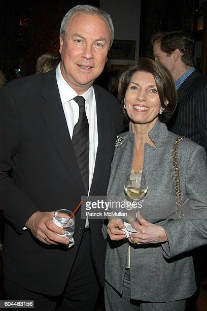 Robert Wilson and Pamela Fiori attend Engagement Dinner for JAY MCINERNEY and ANNE HEARST hosted by GEORGE FARIAS at La Grenouille on November 20...