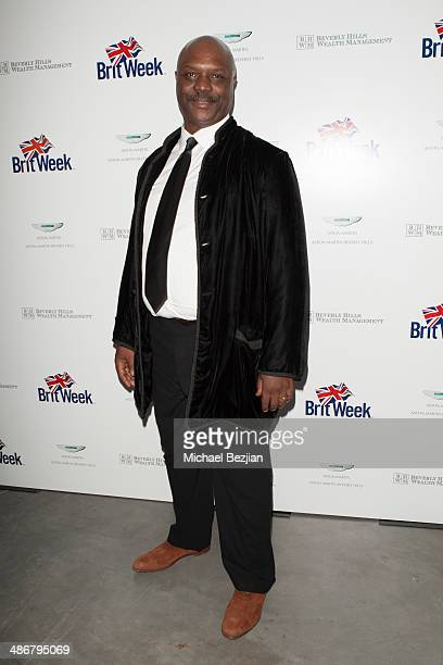 Robert Wisdom attends BritWeek's Evening Of Shakespeare, Music And Love at Moss Theatre at New Roads School on April 25, 2014 in Santa Monica,...