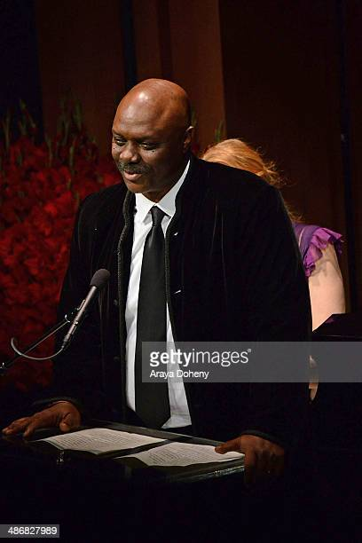 Robert Wisdom attends BritWeek's Evening Of Shakespeare, Music And Love on April 25, 2014 in Santa Monica, California.