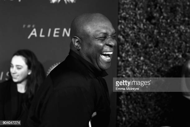Robert Wisdom attends The Alienist - LA Premiere Event at Paramount Studios on January 11, 2018 in Hollywood, California. 26144_017